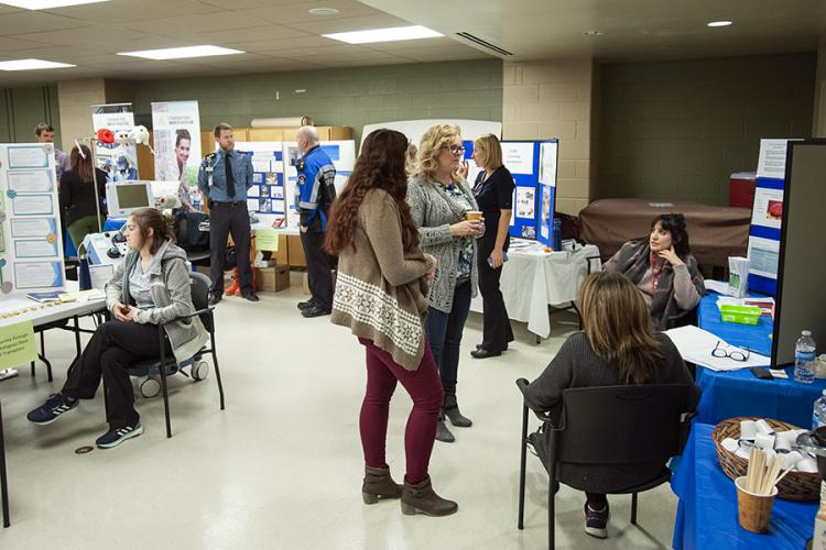 An annual KGH tradition, the Community Showcase was extended to our HDH site this year as a way of celebrating all the professions that work at KHSC each day. This event is our way of celebrating and recognizing our teams for their excellent work and sharing education about what different departments around the hospital are doing to improve care as well as the patient and family experience.
