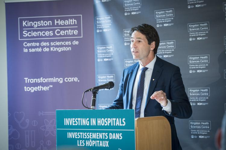 Minister of Health - Dr. Eric Hoskins