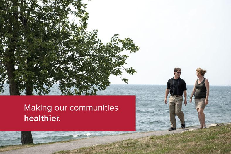 Making our communities healthier