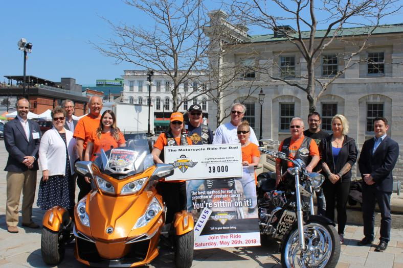This year, Dr. Jason Izard, appointed to the Department of Urology at KHSC, will be receiving a $38,000 grant from the TELUS Ride for Dad fundraiser to further his treatment into prostate cancer.