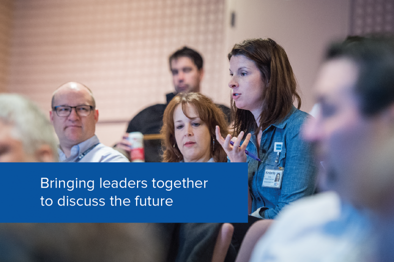 Bringing leaders together to discuss the future