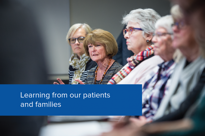 Learning from our patients and families