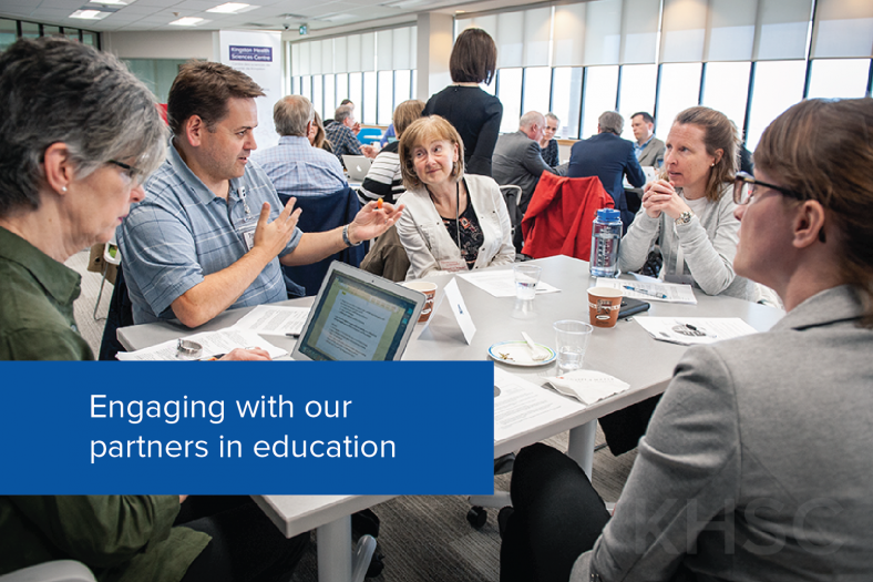 Engaging with our partners in education