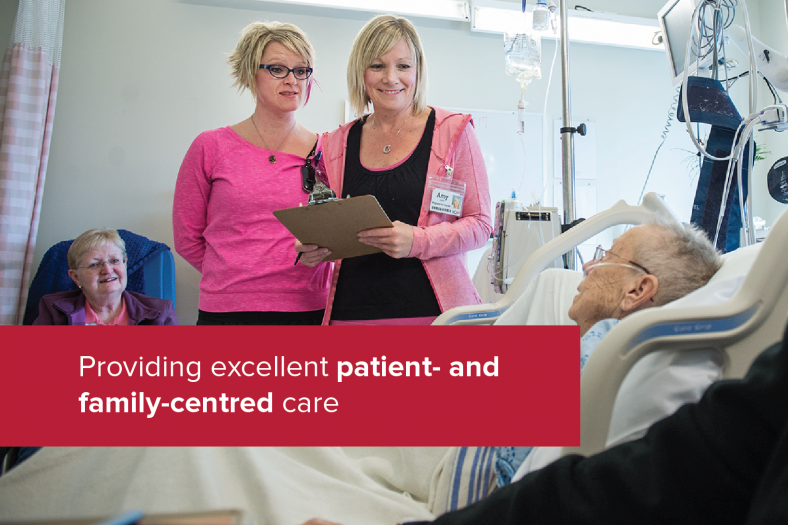 Providing excellent patient- and family-centred care