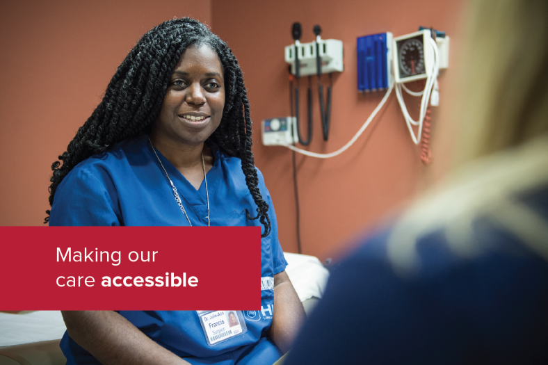 Making our care accessible