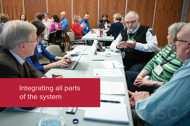 Integrating all parts of the system